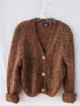 Fuzzy Brown Sweater